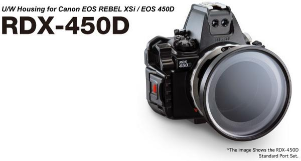 Sea & Sea RDX-450D housing for Canon 450D / 500D