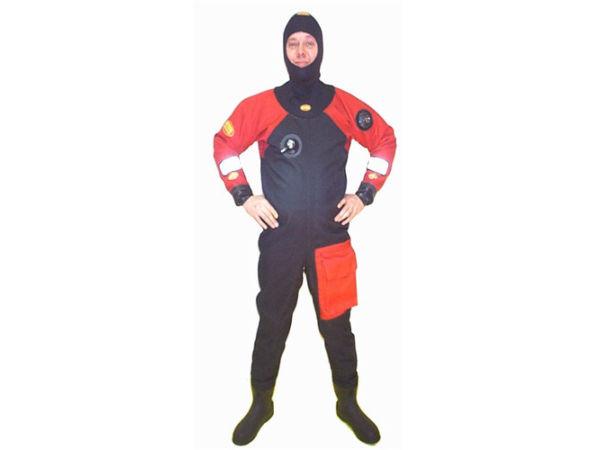 New Otter Cordura-D drysuit & undersuit (mens, tall, slim, size 11 shoe)
