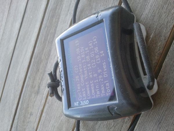 OSTC 2N  dive computer
