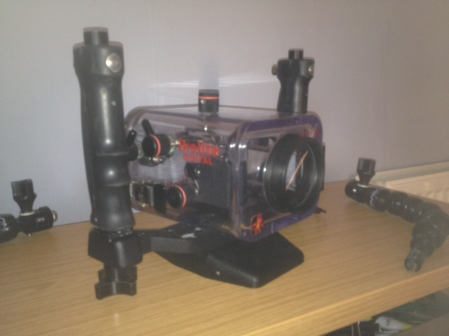 Sony Handycam with Ikelite housing