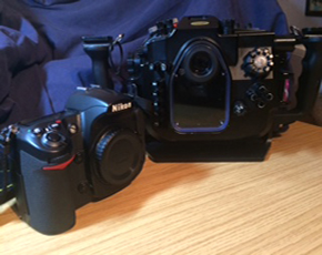 For Sale, Nikon D300 body with MDX housing
