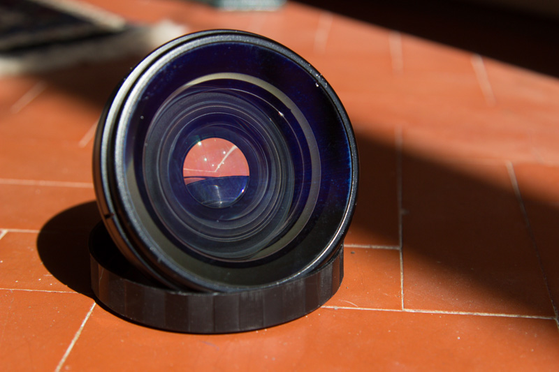 Wide Angle Lens: INON UWL-H100 Wide Conversion Lens (Type 1)
