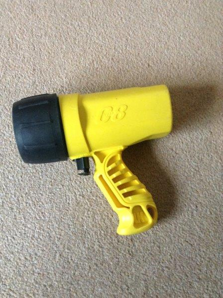 Sunlight UK C8 Dive Torch Including Batteries in Good Working Order
