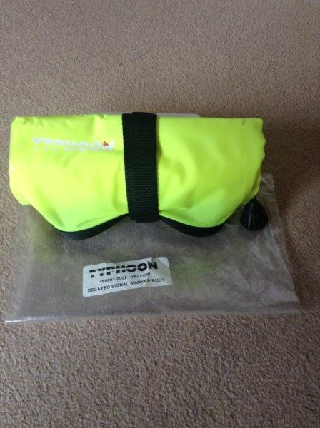 Typhoon Delayed Surface Marker Buoy (DSMB) - BRAND NEW IN BAG - UNUSED