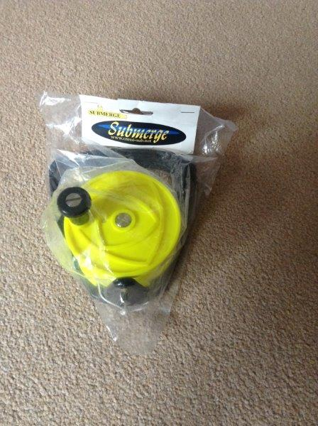Cressi Sub Reel and Line - BRAND NEW IN BAG - UNUSED