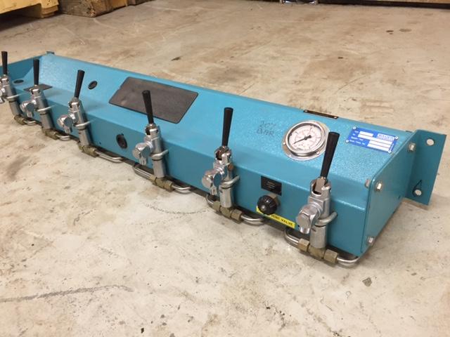 Cylinder Charging Panel (6 outlet)