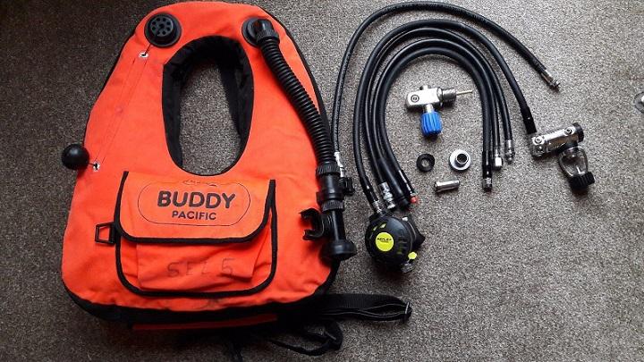 Apeks T50 Reflex Breathing App and Buddy Buoyancy Jacket