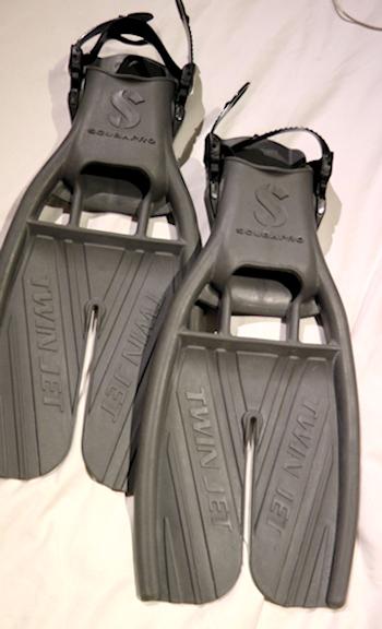 ScubaPro Twin Jet fins, size M