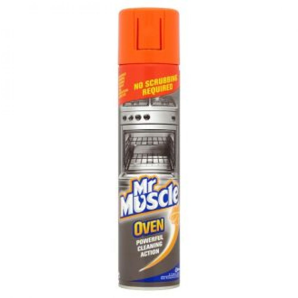 Buy Mr Muscle Oven Cleaner for the Powerful Cleaning Action