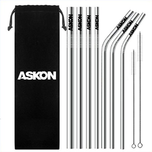 Wholesaler of Promotional Stainless Steel Straws