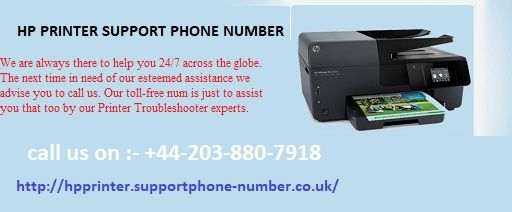 Hp Printer Technical Support Phone Number    +44 203 880 7918