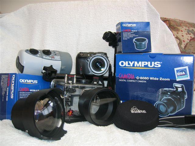 Olympus Underwater Camera Package